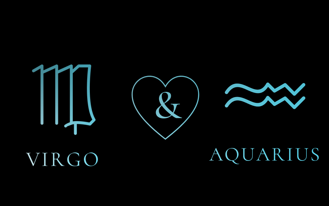 Aquarius Woman – Virgo Man