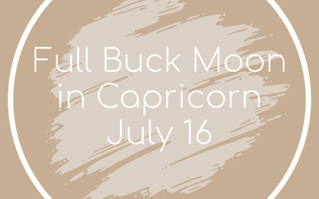 Lunar Eclipse & Full Buck Moon in Capricorn