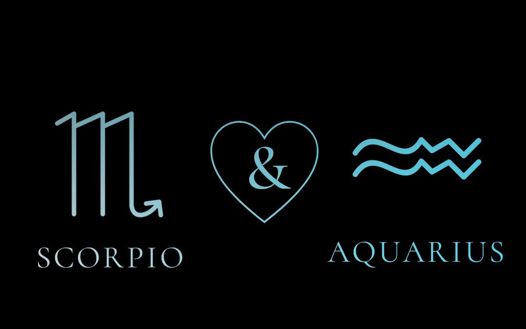 Aquarius Woman – Scorpio Man