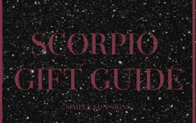 Scorpio Gift Guide 2020