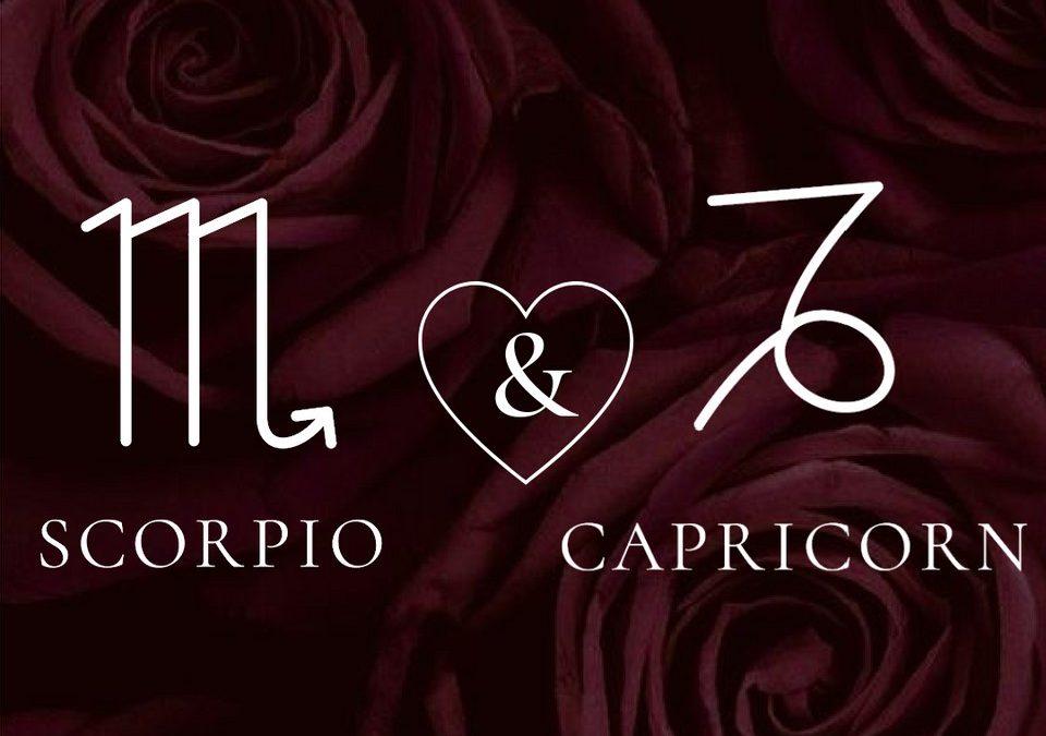 Scorpio Woman – Capricorn Man