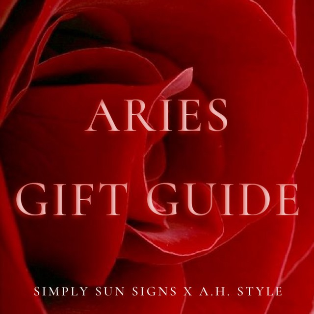 Aries Gift Guide 2021